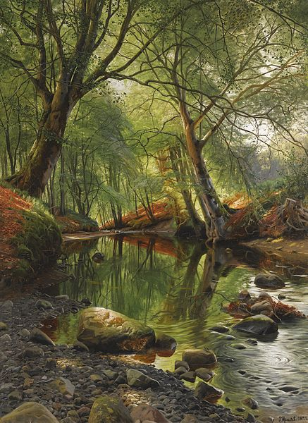 437px-Peder_Mønsted_-_A_woodland_stream